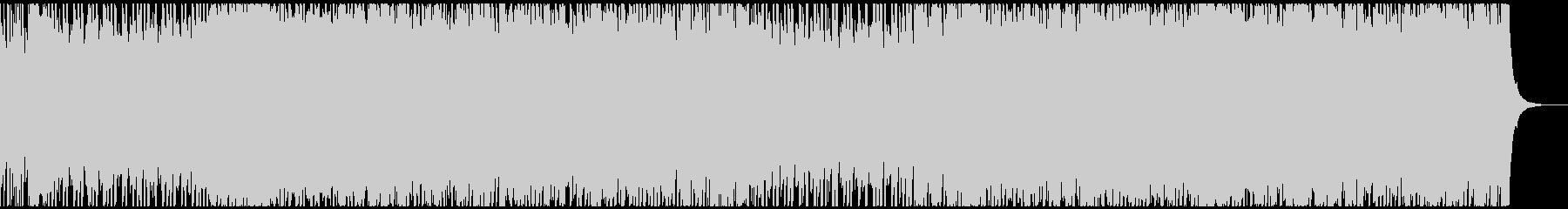 シンプル元気な疾走感パンクロックの未再生の波形