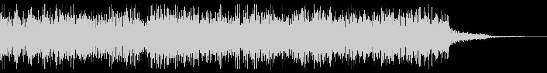 レトロゲーム音 場面転換、ゲームオーバーの未再生の波形