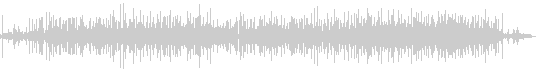 ストリングスを多様したポップス系BGMの未再生の波形