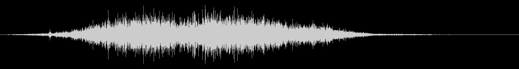 ダウンヒルスキーヤースキッドストップの未再生の波形