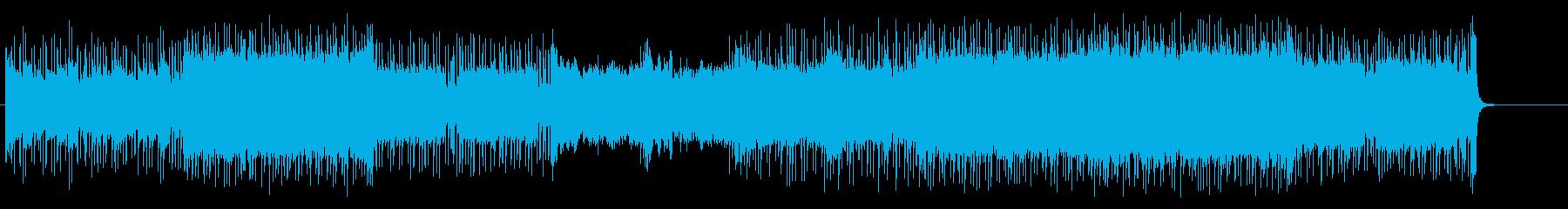 ロック系、未来へ、エール BGM72の再生済みの波形