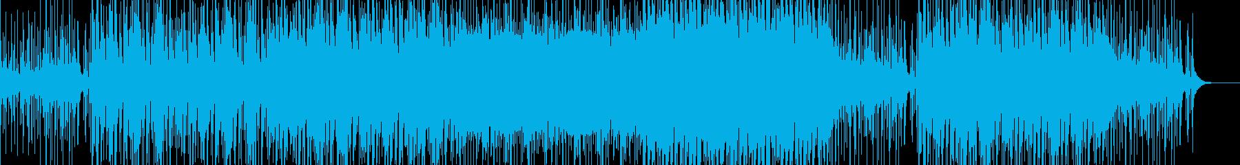 和楽器×タブラのゆったりとしたBGMの再生済みの波形
