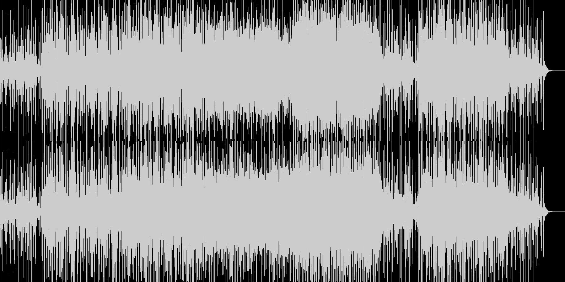 和楽器×タブラのゆったりとしたBGMの未再生の波形