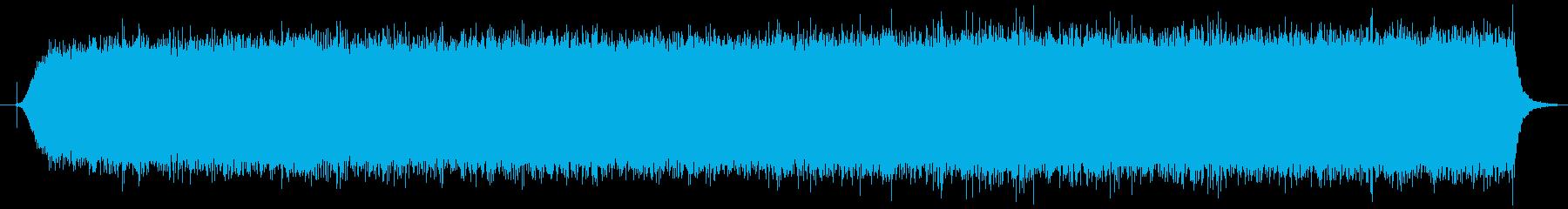 ハンドヘルドヘアドライヤー:開始、...の再生済みの波形