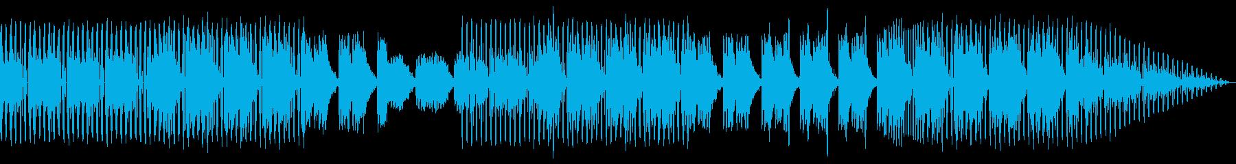フレンチハウス。ファンキーの再生済みの波形