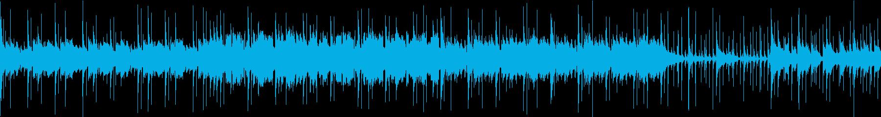 民族音楽風/RPG/ループ可能BGMの再生済みの波形
