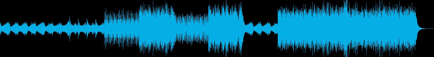 ダウンテンポBGMの再生済みの波形