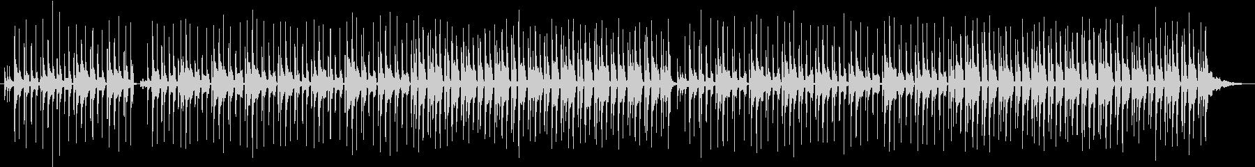 ボサノヴァ風のゆったりとした音楽ですの未再生の波形