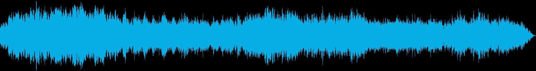 癒しの周波数 神秘的・瞑想的な曲の再生済みの波形
