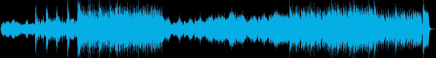 和太鼓尺八オーケストラ企業プレゼンの再生済みの波形