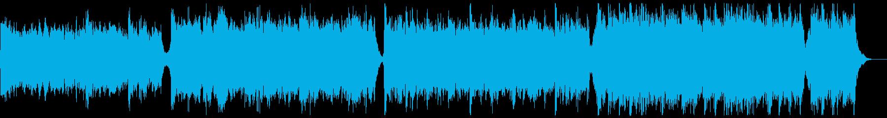 知的なシネマティックピアノの再生済みの波形