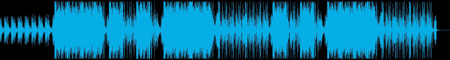 重低音・カッコイイ・クラブ系の再生済みの波形