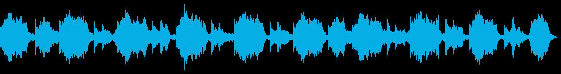 ダークでミステリアスなピアノ 奇怪な演出の再生済みの波形