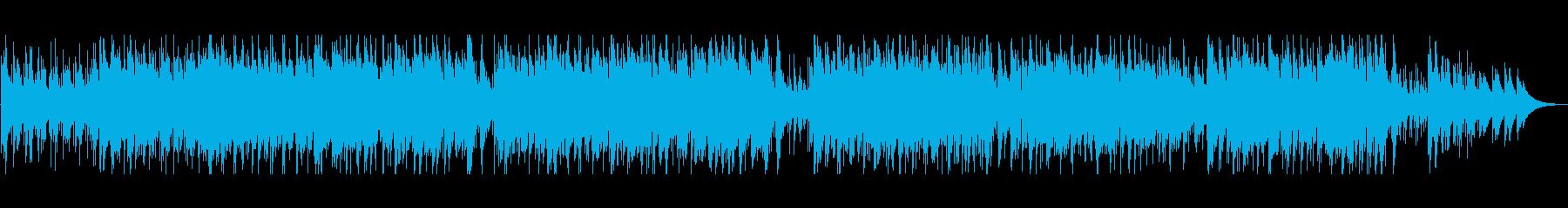 落ち着いた雰囲気のボサノバの再生済みの波形