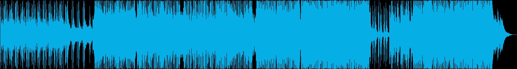 ミュージカル風!明るく感動的なポップスの再生済みの波形