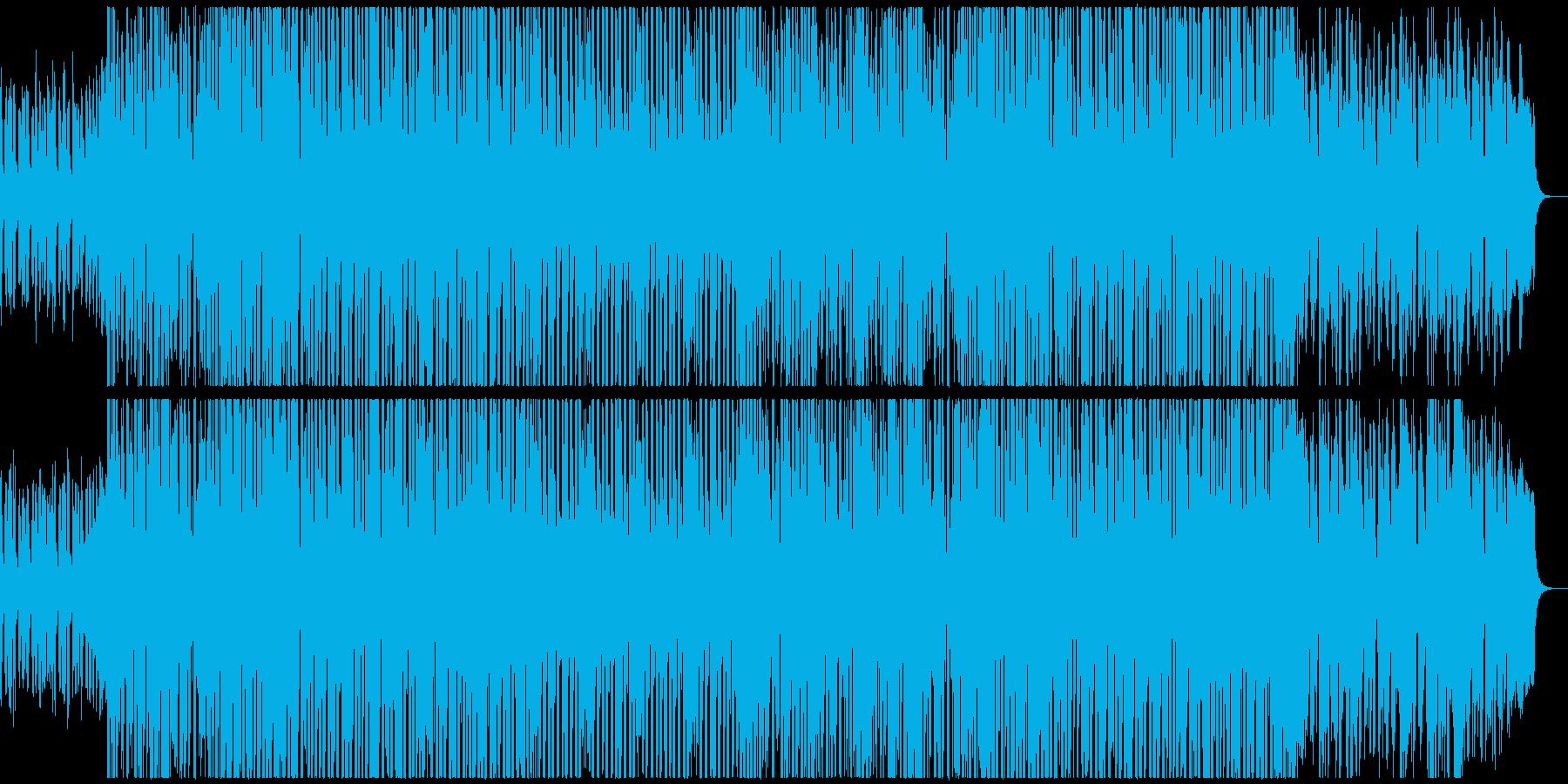 ふわふわ可愛いフューチャーベースです。の再生済みの波形