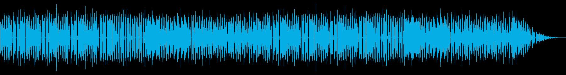 NES アクションD05-1(ステージ4の再生済みの波形