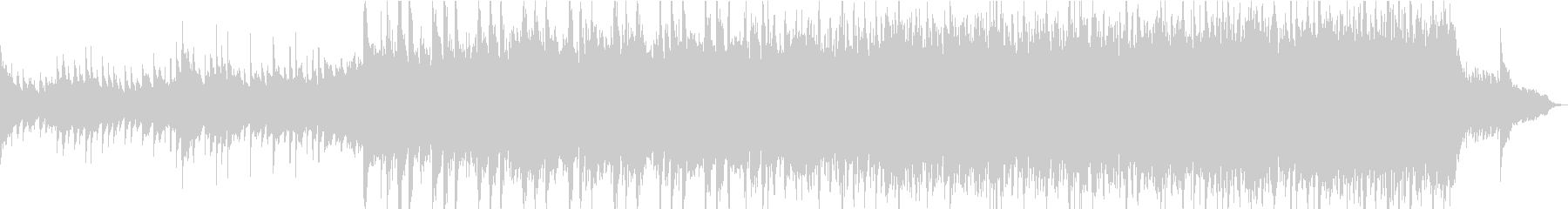 電気音響シンフォニー ファンタジー...の未再生の波形
