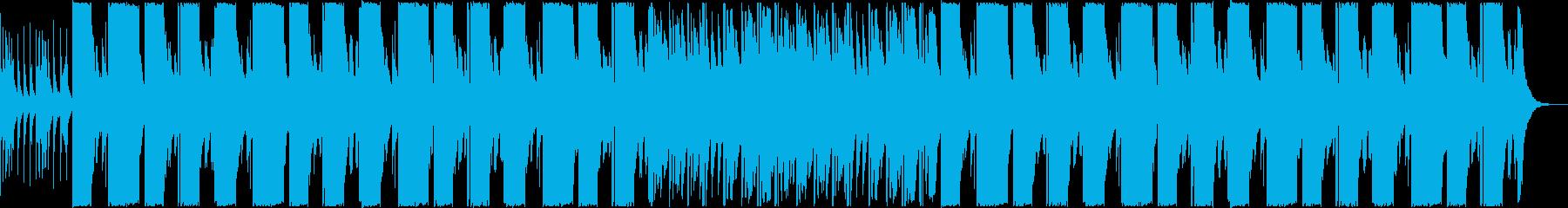 おしゃれで優雅なポップBGMの再生済みの波形