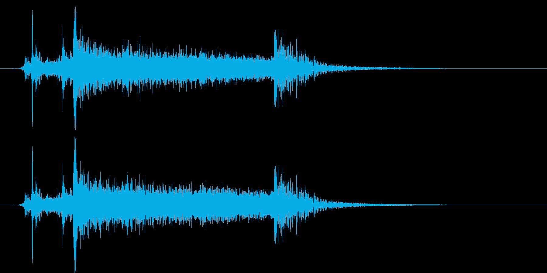 コックピット_重たいドア開く_2の再生済みの波形
