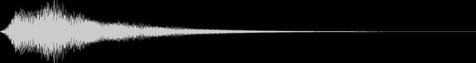 ボタン・操作音7の未再生の波形