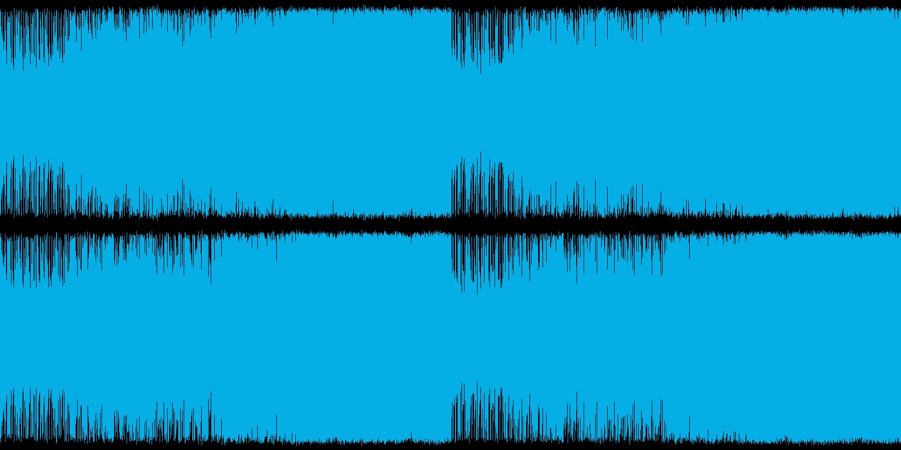 【ループ用】聴きやすさ重視のアップテン…の再生済みの波形