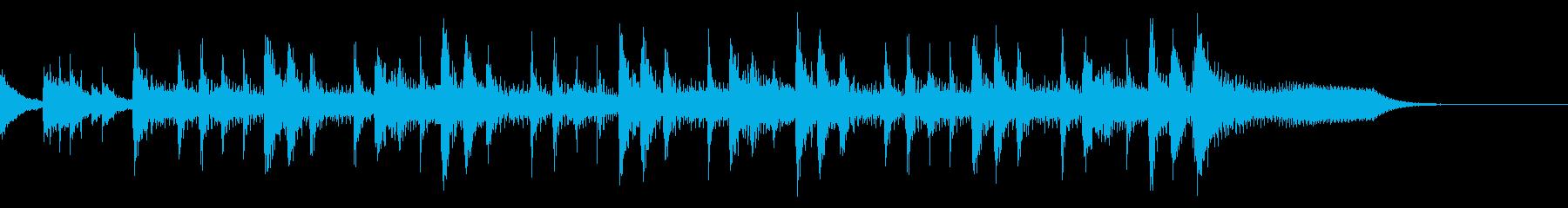 ランチェロリズム、速いテンポ、ベー...の再生済みの波形