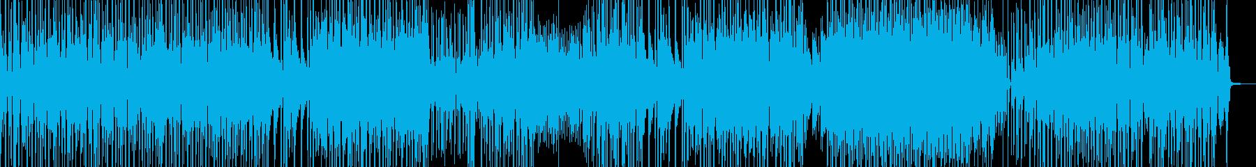 お笑い冒険活劇・ドラムの三味線ファンクの再生済みの波形