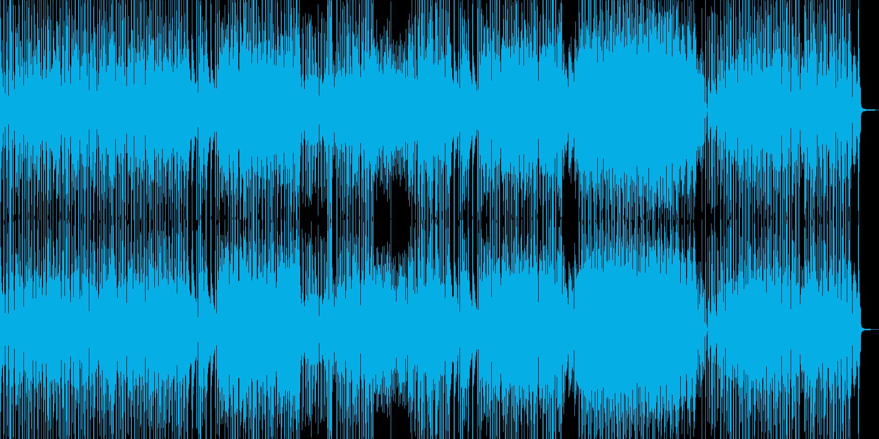 お笑い冒険活劇・オシャレ三味線ファンクAの再生済みの波形