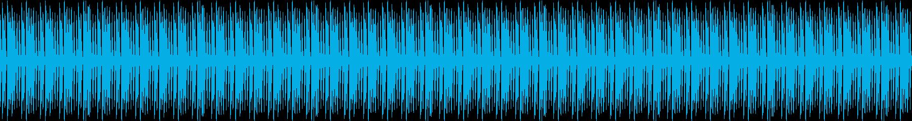 ピアノ・生配信・ほのぼの・ループ・日常の再生済みの波形