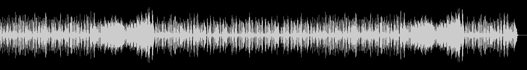 可愛く跳ねるワルツ・ピアノソロの未再生の波形