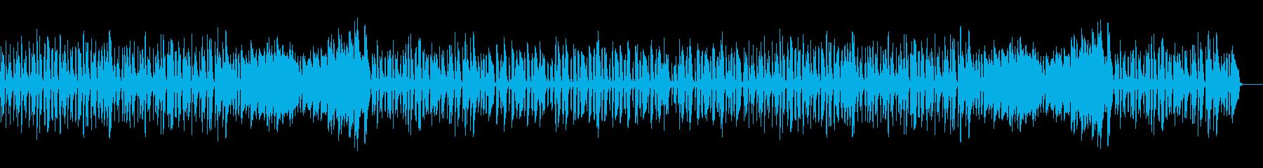 可愛く跳ねるワルツ・ピアノソロの再生済みの波形