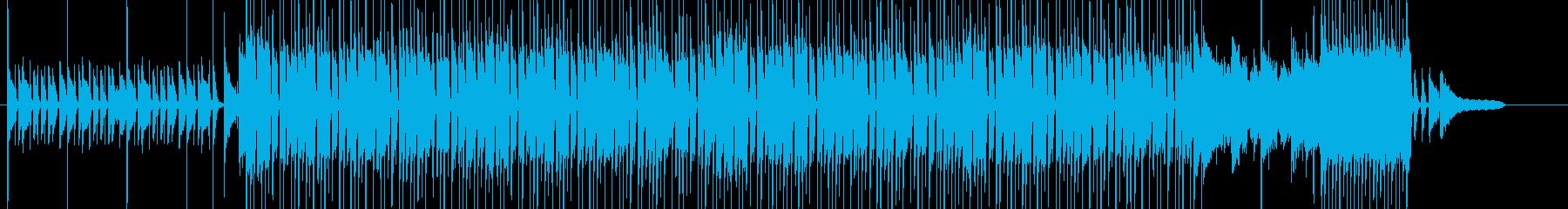元気で可愛いやんちゃなBGM【ループ可】の再生済みの波形