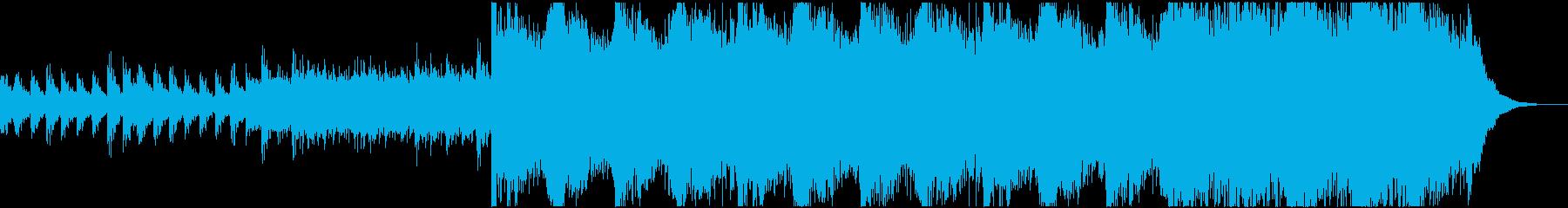 ゾッとする不吉なサスペンス/ホラー...の再生済みの波形