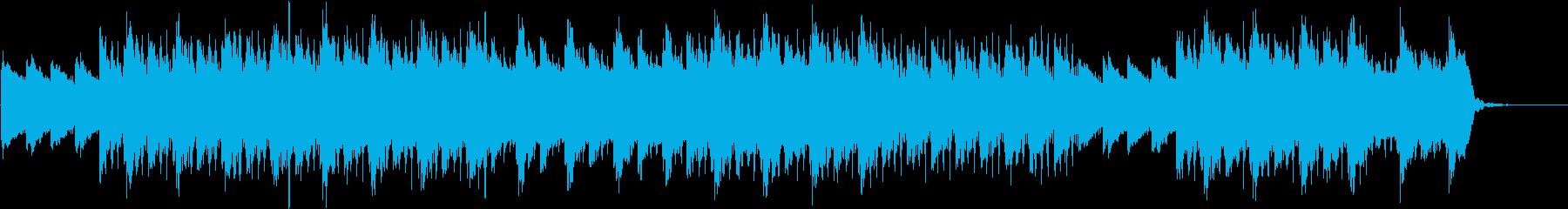 幻想的で切ないチルアウトの再生済みの波形