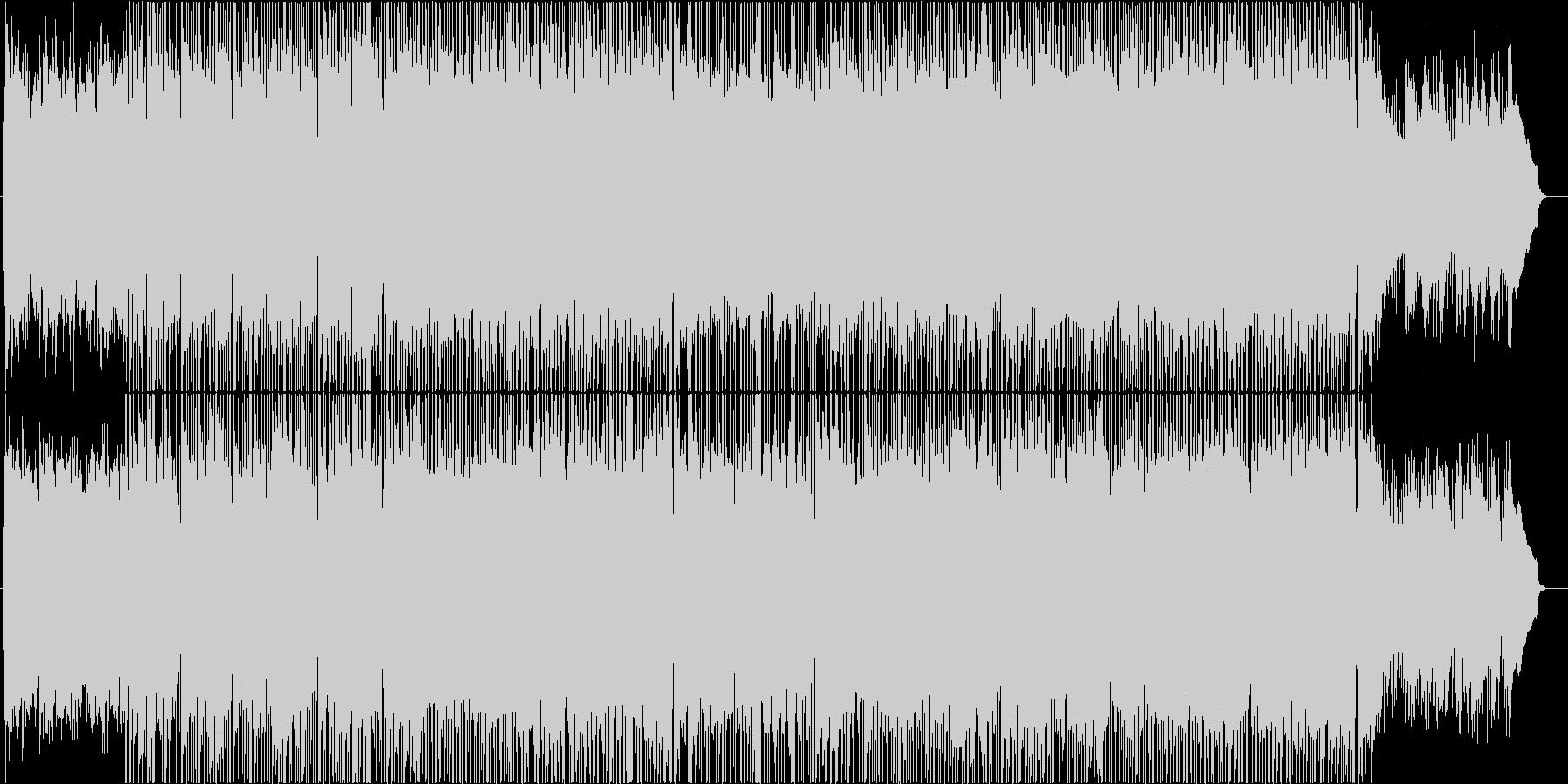 春から初夏をイメージしたアコギ曲の未再生の波形