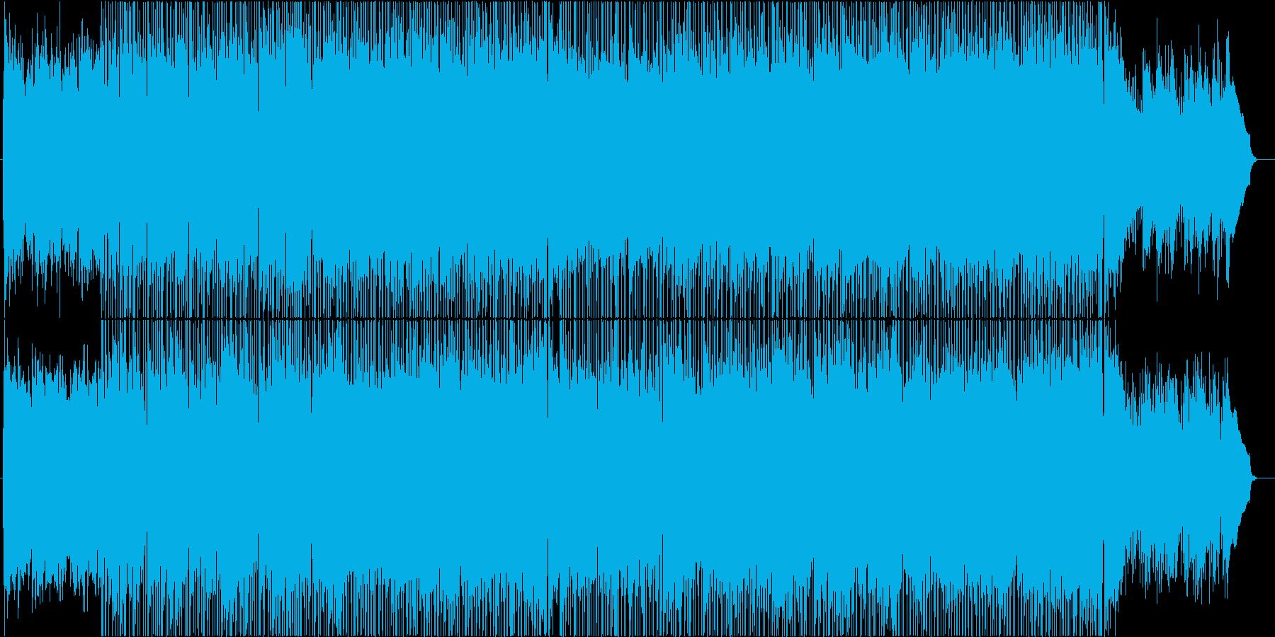 春から初夏をイメージしたアコギ曲の再生済みの波形