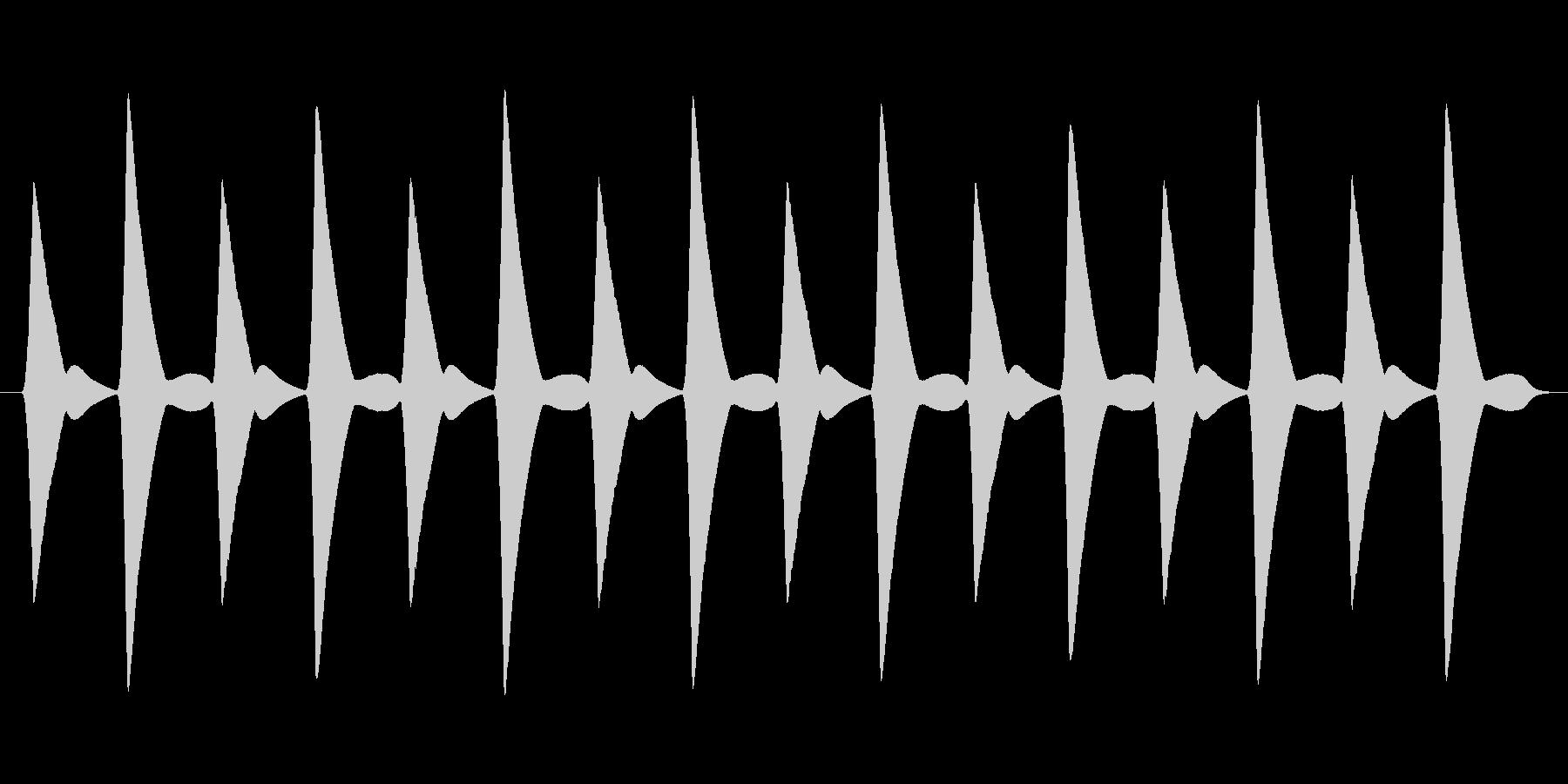 【ピヨった音】ぴよぴよぴよぴよの未再生の波形