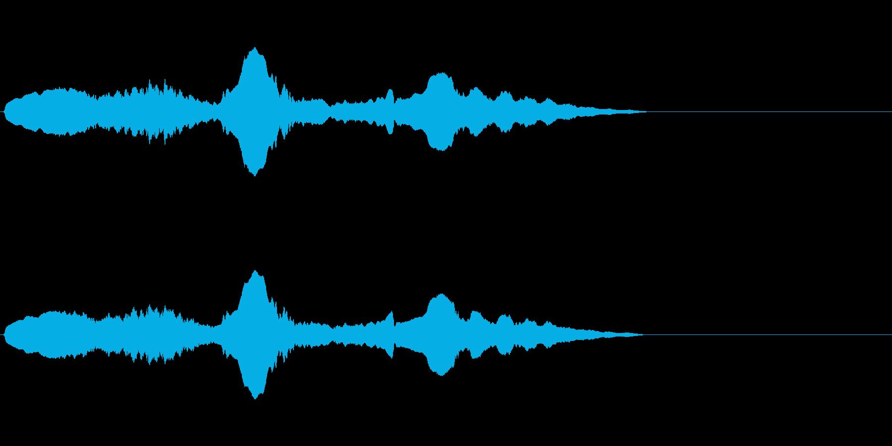 尺八 生演奏 古典風 残響音有 #11の再生済みの波形