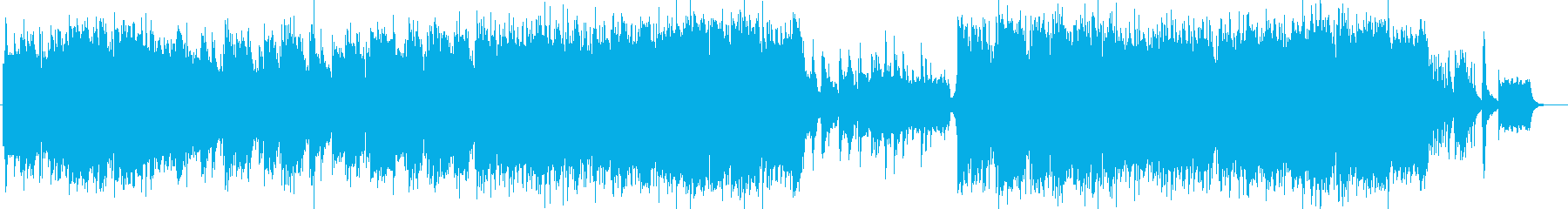 美しく切ないシンセピアノサウンドの再生済みの波形