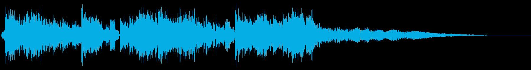 ジングル ダブステップ EDMの再生済みの波形