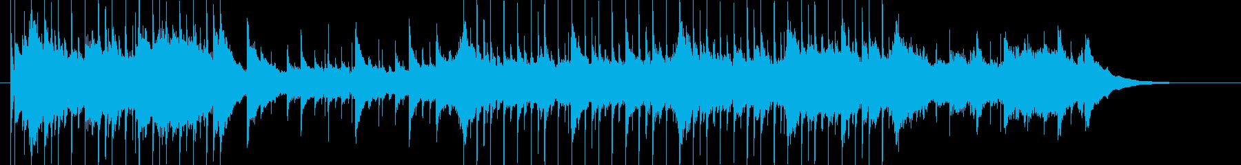 ゆったりとかわいいアメリカ童謡の再生済みの波形