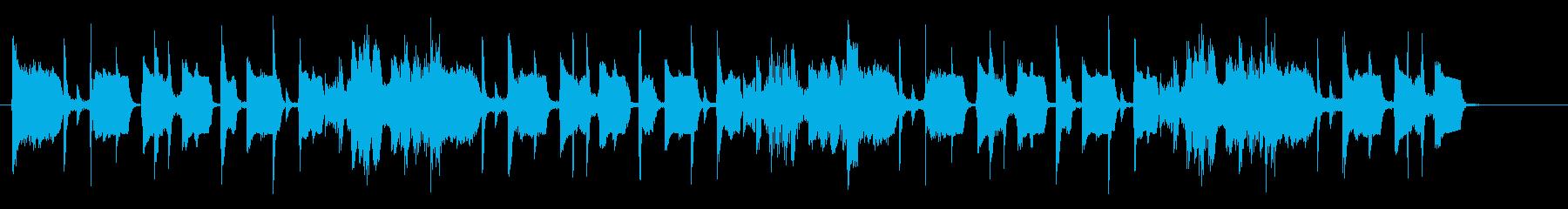 ヒップホップ楽器。催眠、スペーシー...の再生済みの波形