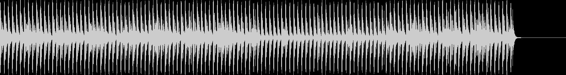琴主体の和風の4つ打ちの未再生の波形
