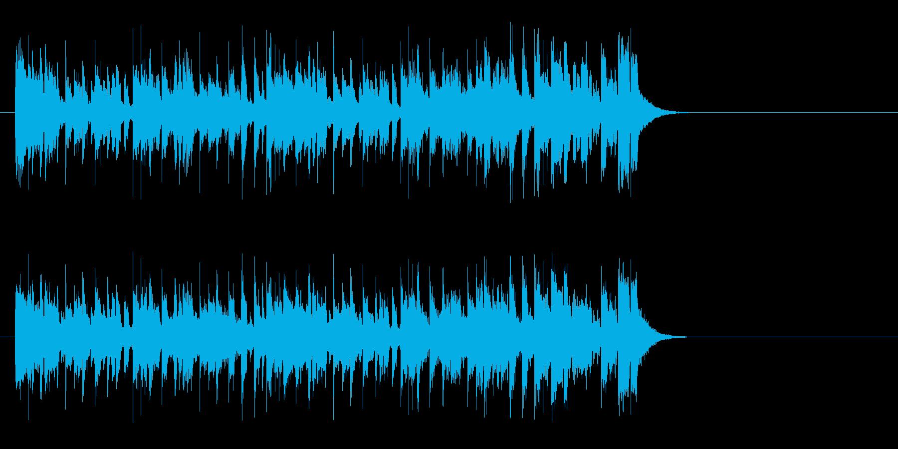 ビジネスマンの一日 ファンキー・サウンドの再生済みの波形