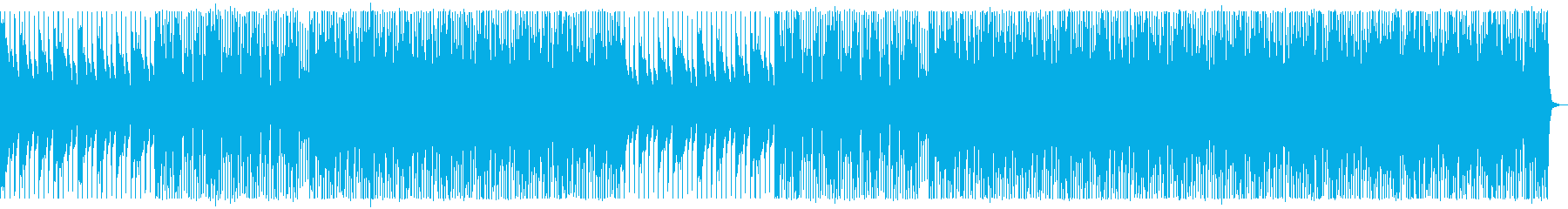 爽やか/ディープハウス_No677_1の再生済みの波形