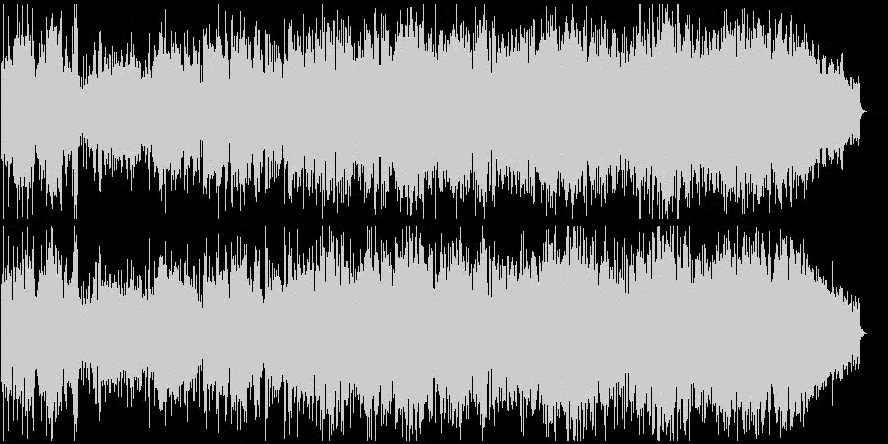 生演奏フルート元気アコースティックポップの未再生の波形