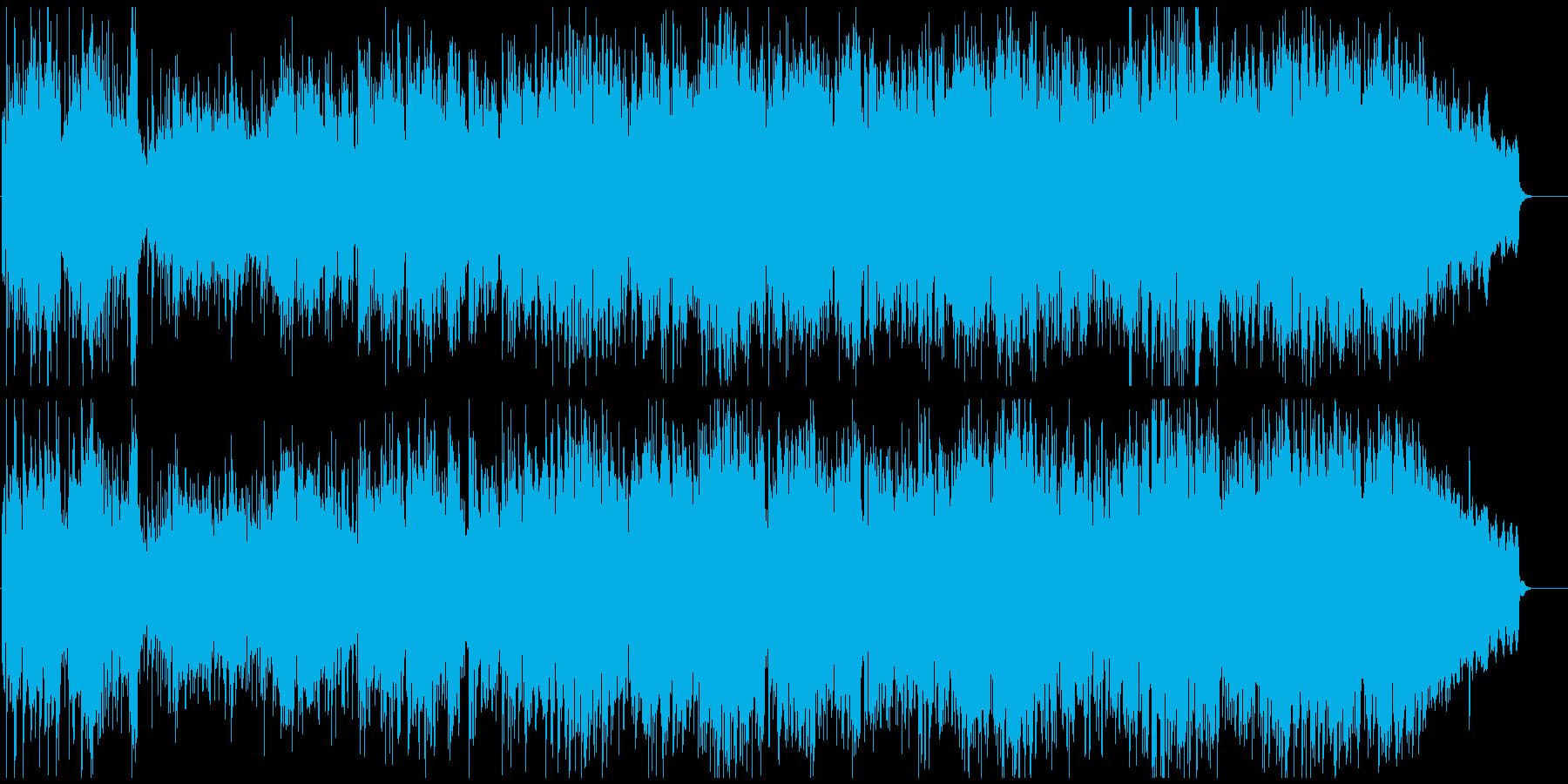 生演奏フルート元気アコースティックポップの再生済みの波形
