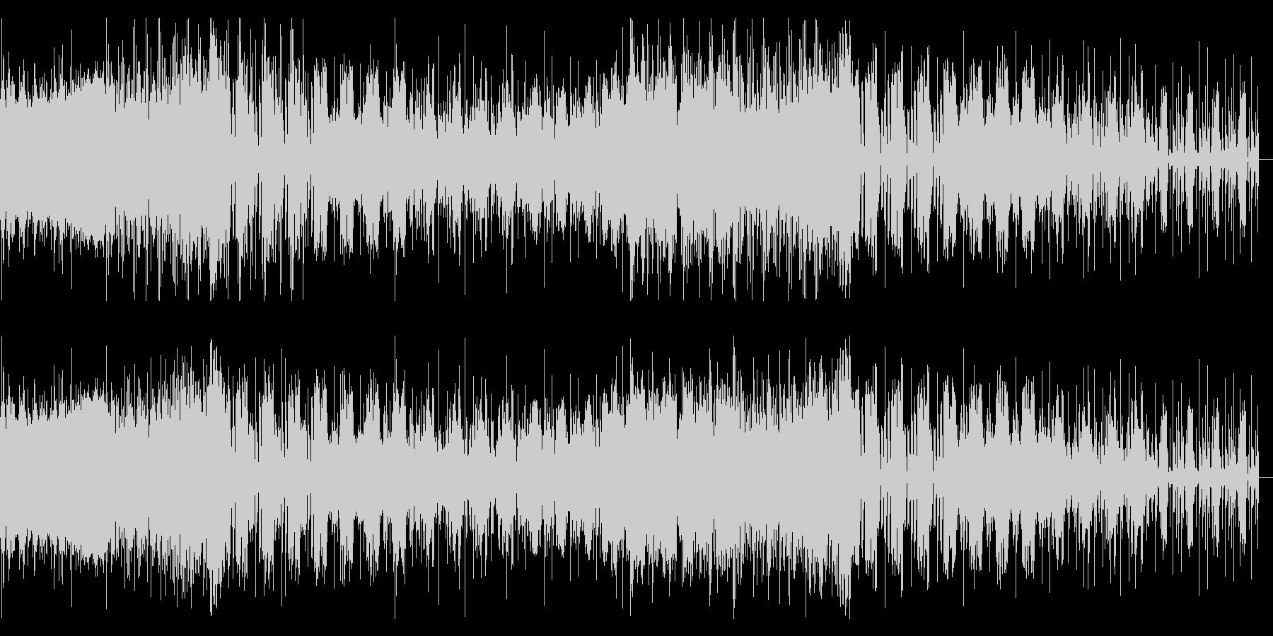 リズミカルなノイズのロボティックなIDMの未再生の波形
