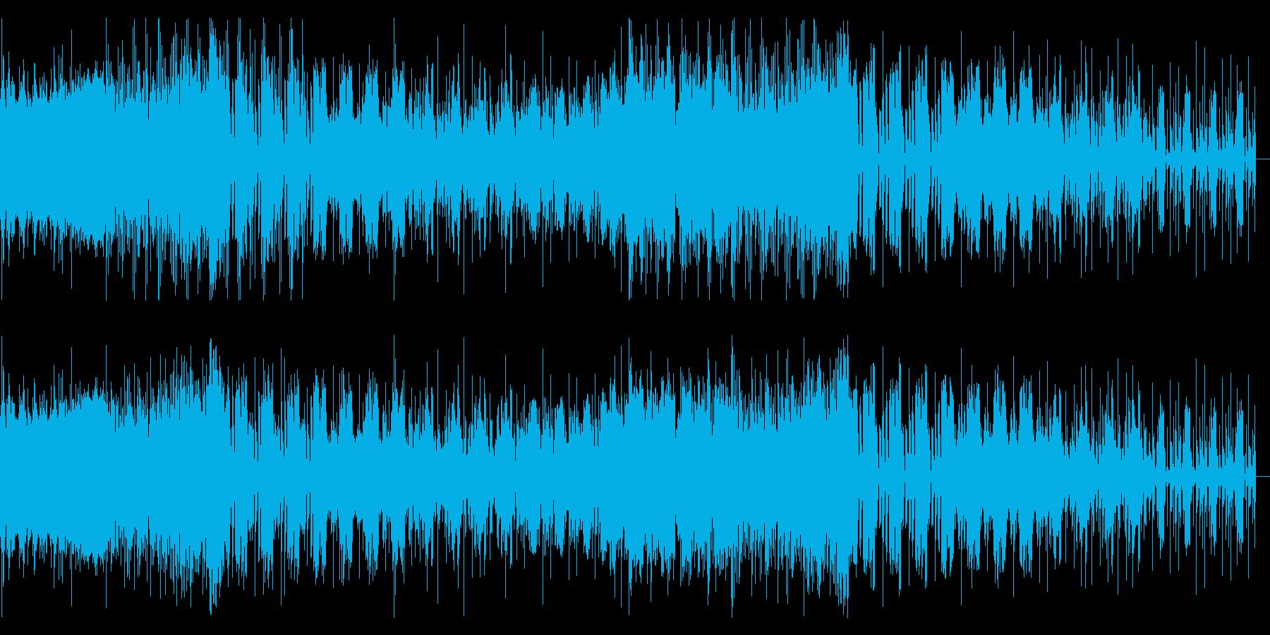 リズミカルなノイズのロボティックなIDMの再生済みの波形